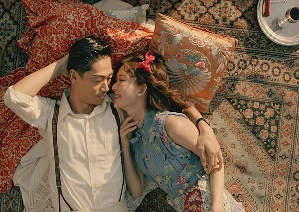 婚後兩人首次共同出演作品:林志玲與 Akira 上演一段穿越時空的唯美戀愛!