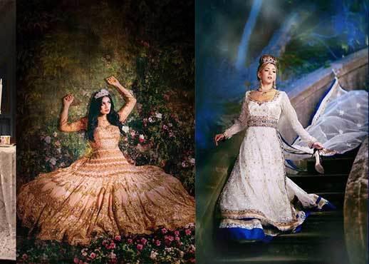 如果迪士尼公主都是出生在印度...這麼華麗的公主服也會變成小女孩夢想嗎?