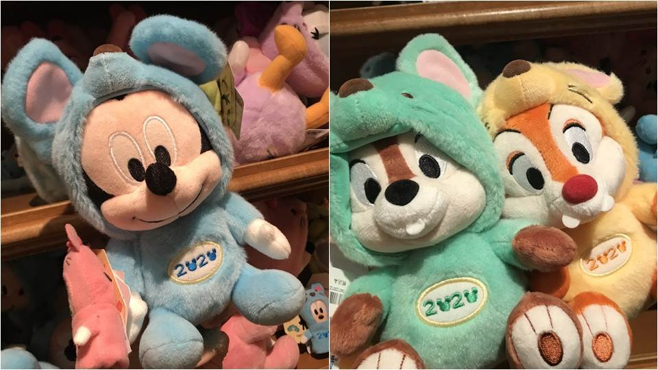 掏空錢包也要帶他們回家!「2019東京迪士尼聖誕商品特輯」,奇奇蒂蒂穿粉嫩嫩新衣服有夠呆萌!