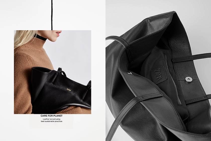 兼具時髦與環保:Zara 首次推出客製化手袋,刻印上專屬妳的個人風格!
