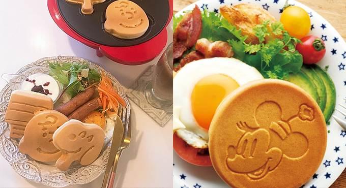 這麼可愛的嚕嚕米鬆餅你捨得吃?日本造型鬆餅機5選