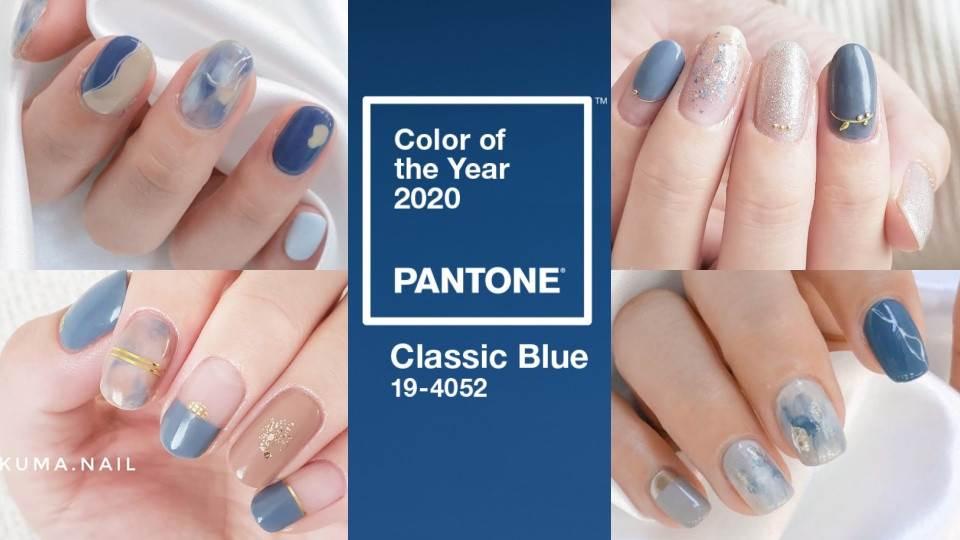 藍色果然是最美的顏色💙2020「Pantone經典藍」美甲圖鑑,除了顯白,手指還能變纖細!