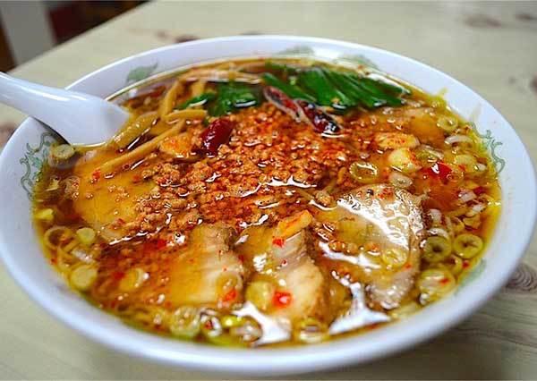 想不到,日本烏龍麵聖地竟然有賣台南拉麵?!還有當地限定口味!