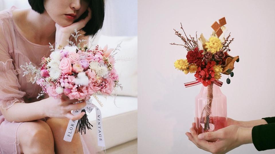 情人節多肉花禮盒 – 蔓蔓植愛&情人節多肉花束 – 一朵小植愛