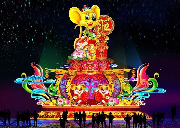 IG又要被洗板啦!「2020新北燈會—家金鼠喜」即將華麗登場,120公尺彩繪燈廊拍不完!