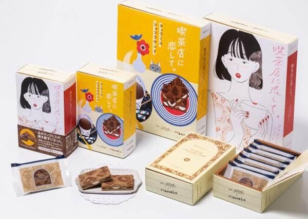 東京文青系伴手禮「喫茶店に恋して。」領你走進書本中的世界