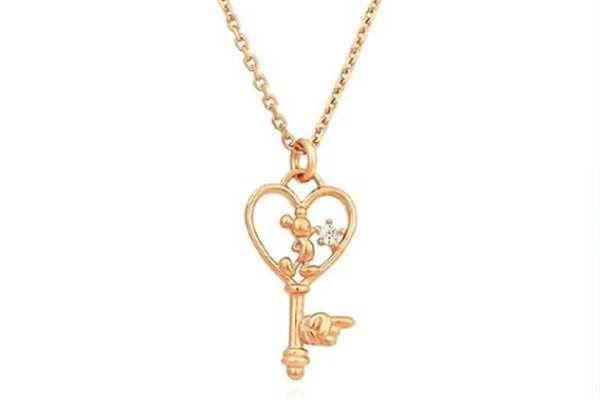 讓米奇幫你報時!韓系「迪士尼聯名飾品」超Q登場,鑰匙造型項鍊94要鎖住你的心♡