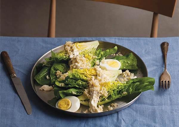 跟著食譜做好料:佐鯷魚凱薩沙拉用這種米來搭配,不但營養均衡,重點是低熱量!