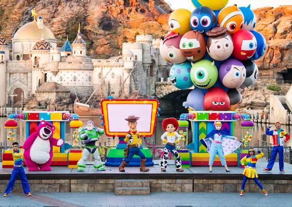 東京迪士尼海洋「皮克斯遊戲時間」開跑 一起來渡過夢幻時光吧!