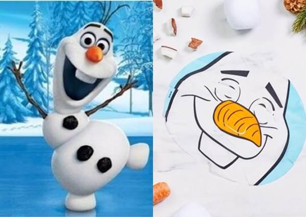 一秒變Elsa公主!迪士尼鐵粉快入手「冰雪奇緣」面膜,還有超Q萌雪寶款等你來挑戰!