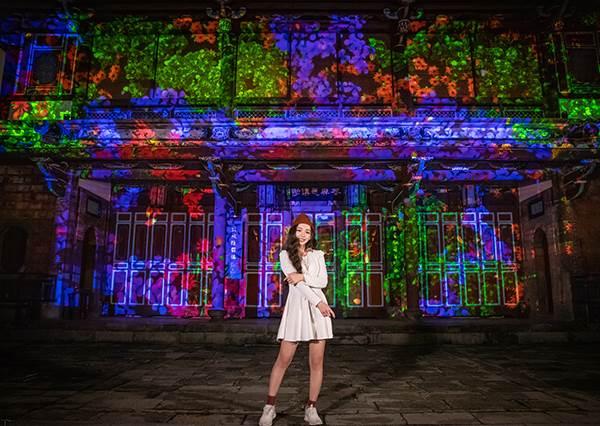 不說還以為是在國外!最適合情人節約會的新北景點TOP 3:板橋林家花園夜間點燈超浪漫!