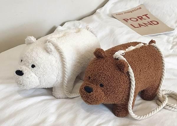 遛熊熊去逛大街啦!《熊熊遇見你》推出超療癒背包系列,約姊妹一人揹一個出門敲口愛!