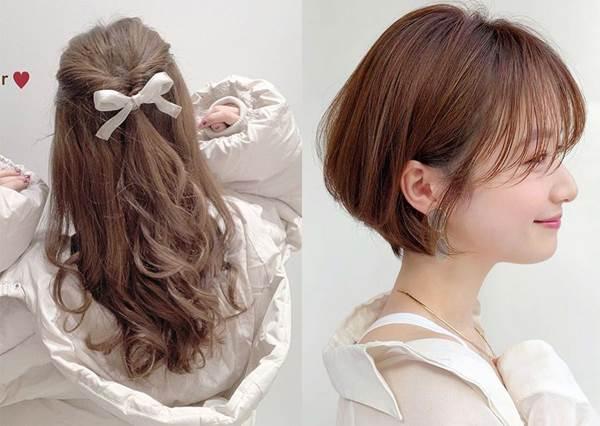 約會必備慵懶輕柔可愛髮型!不同長度的簡單髮型打理法