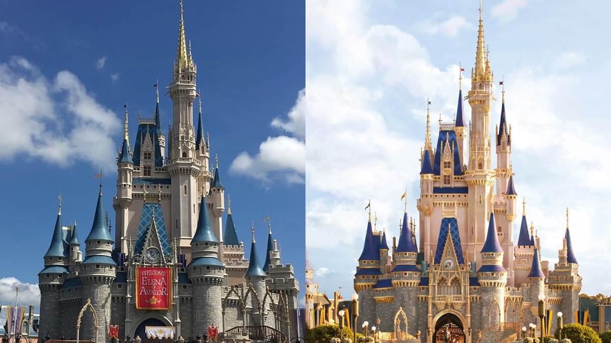迪士尼招牌「灰姑娘城堡」即將夢幻變身!柔嫩粉色、皇家金點綴細節,概念圖公開直接美出新高度!