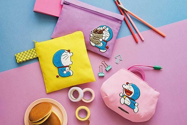 記憶吐司也變身洗衣袋!哆啦A夢「聯名週邊」第二彈更賣萌,從票卡夾到室內拖都想收💙
