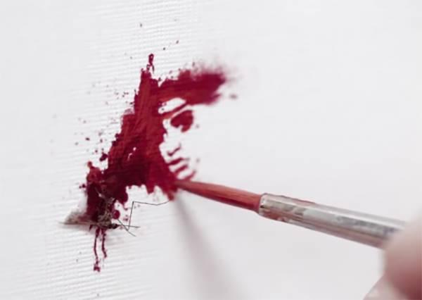 快點獻血!蚊子吸你血是為了藝術創作,你相信嗎?