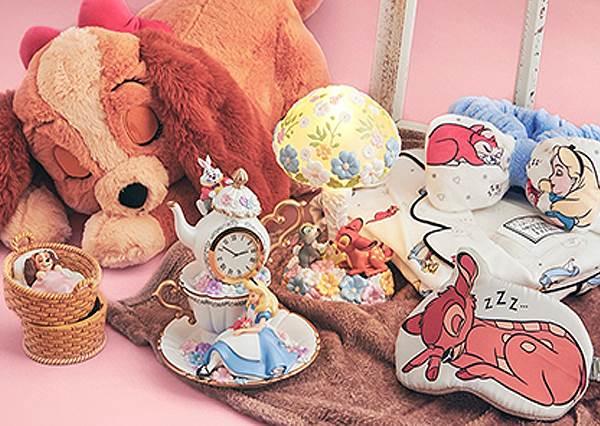 大家一起來睡覺!日本迪士尼「世界睡眠日」系列周邊