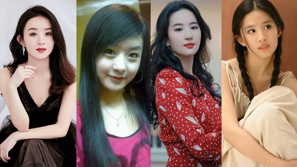 楊冪戴牙套青澀照曝光!10位流量女星的「舊照對比」,劉亦菲依然仙,楊紫、趙麗穎變化好大