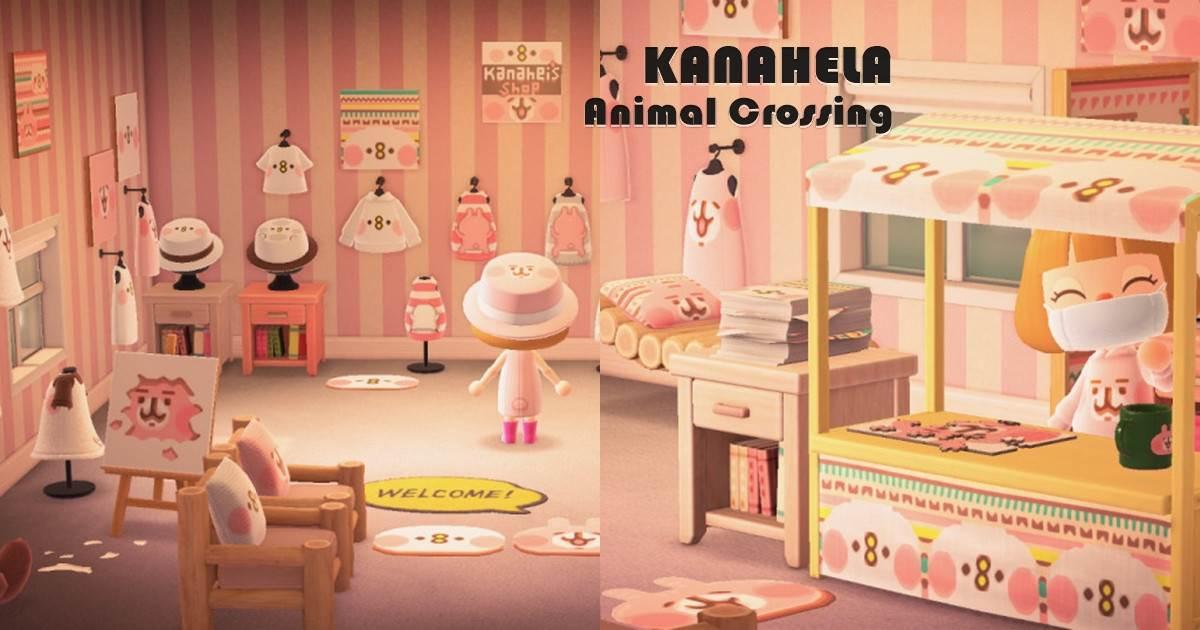 粉紅兔兔也進軍無人島!《動物森友會》作者親自打造卡娜赫拉主題小屋公開,教你如何「免費」get服飾