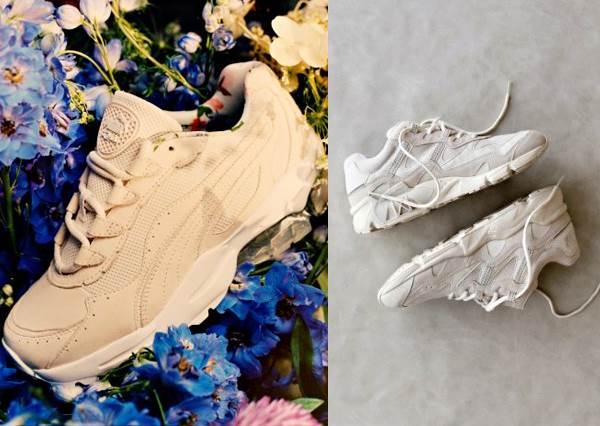 別再小白鞋了!春夏鞋櫃要換上「小清新奶油鞋」,PUMA奶油碎花、拼貼帆布大盤點