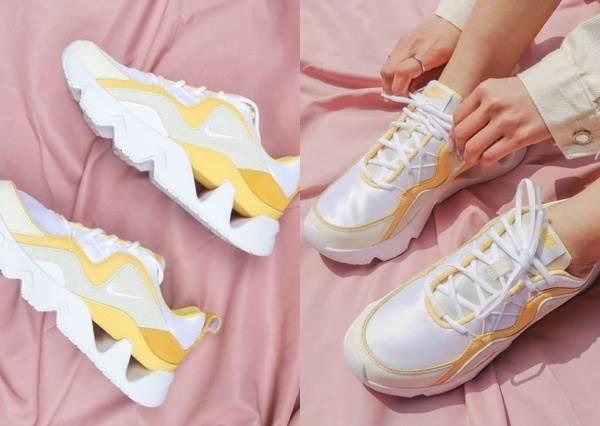 黃色控要暴動啦~5款春夏必備「蜂蜜芥末黃」少女心球鞋,鋸齒老爹、經典板鞋也全都跟上了!
