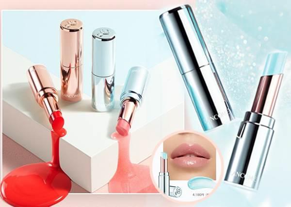被這冰晶藍仙到想哭!日本Lancôme「夢幻銀河系潤唇膏」超高顏值10色新品,水潤玻璃唇的透明感太生火❄️