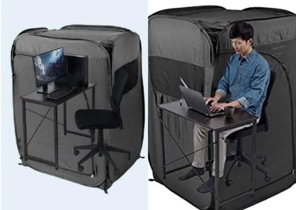 放我一個人靜一靜!日本推「個人辦公室帳篷」防疫順便防厭世,根本是迴避社交的完美結界吧?!