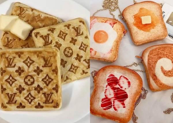 鬆餅界的名牌貨?「LV圖騰鬆餅機」每一口都吃到奢華的味道,沒有錢買名牌也可以背吐司出門!
