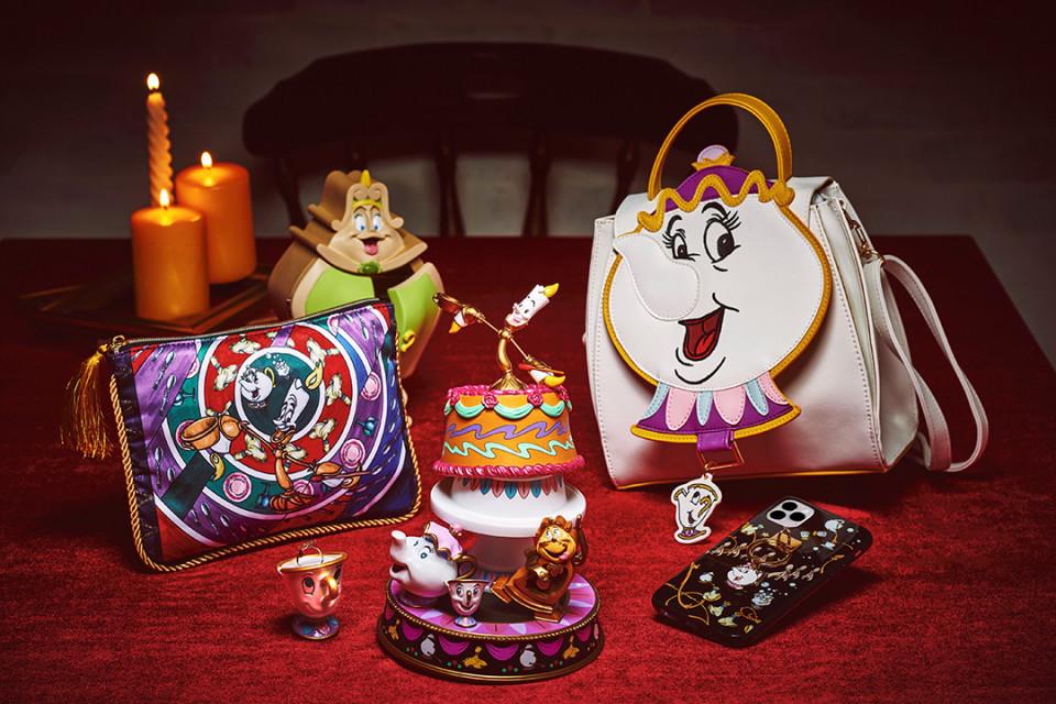 迪士尼美女與野獸系列「鑰匙圈」2,200日元~2,750日元