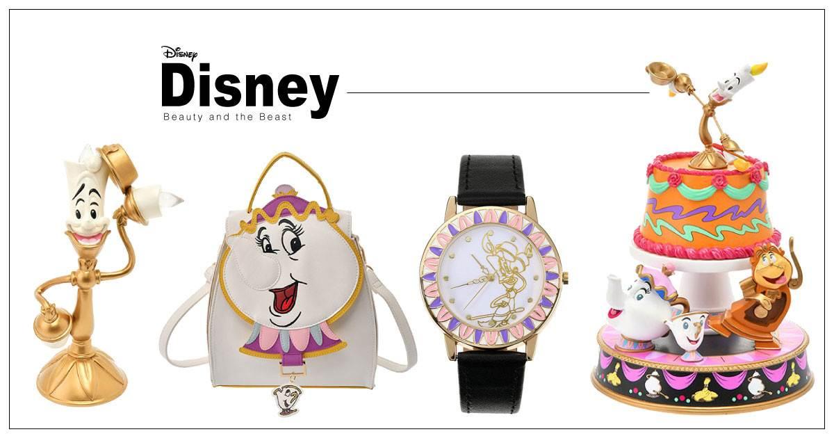 超療癒週邊!迪士尼推出「美女與野獸系列」商品,茶壺太太&小齊背包萌到讓人想尖叫~
