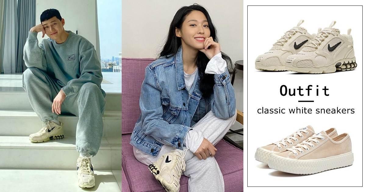 韓星小白鞋款千元可Get!6雙超百搭「小白鞋」推薦,朴敘俊這雙男女通吃又帥又美~