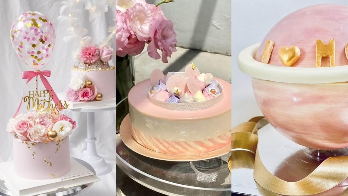 母親節不知道選什麼蛋糕?20款「超美造型蛋糕」推薦,超浮誇星球、療癒芋泥直接收服媽咪的心!