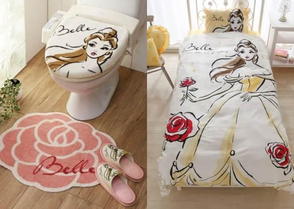 一窺貝兒和野獸的同居生活♥️迪士尼《美女與野獸》夢幻家居系列,茶壺太太的窗簾也太可愛了!