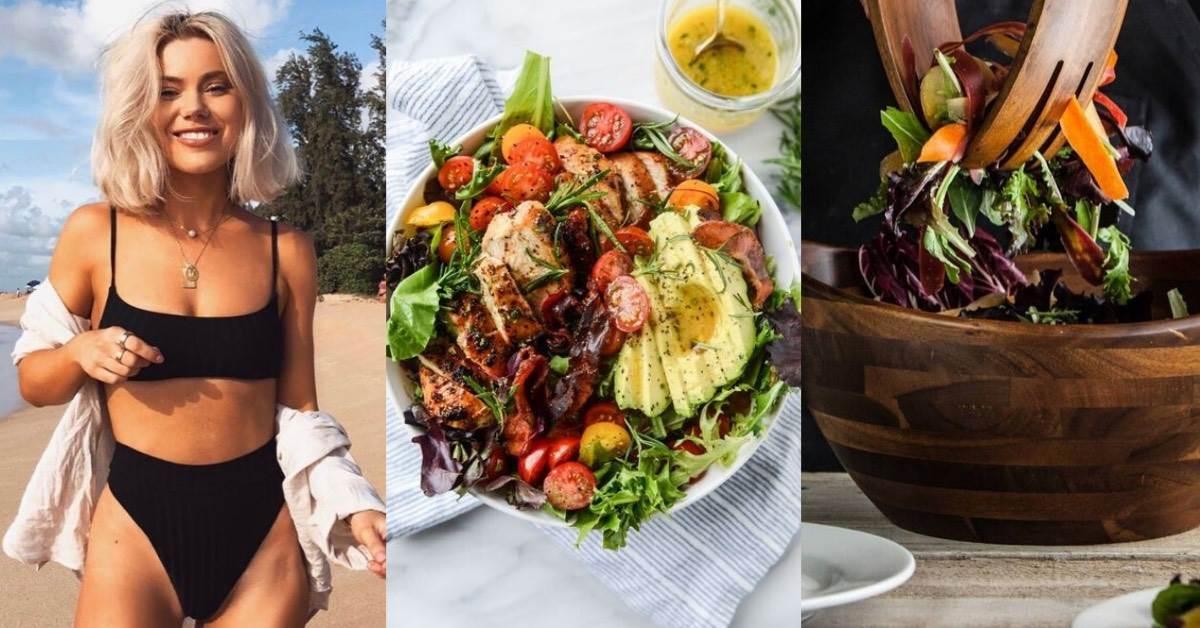 吃沙拉減肥會瘦?把握「5個小訣竅」吃沙拉,小心熱量來自於「它」反而越吃越胖!