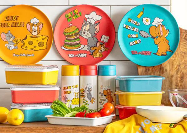 可愛鼠冒出廚房搗蛋!日本「湯姆貓與傑利鼠」雜貨廚具聯名,穿上圍裙變身貪吃小廚娘