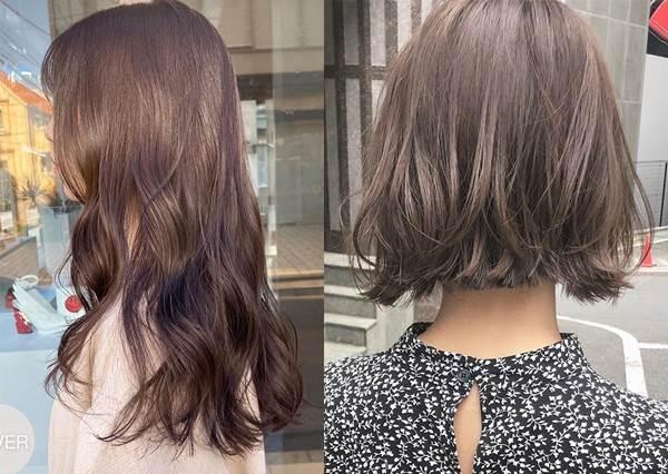 洋溢春天氣息的「透明感髮色」!不用漂的日本可愛流行髮色型錄