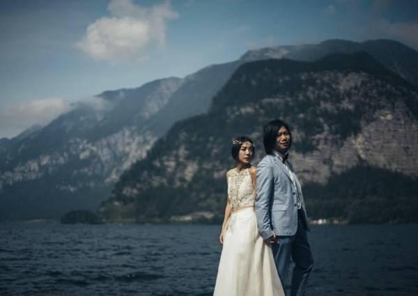 從南極拍到希臘 跟明星一起帶著婚紗去旅行!