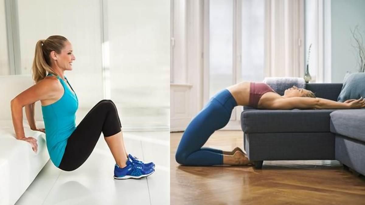 躺著也能瘦?!6組「瘦腿動作」不管沙發或床上都能動,沙發馬鈴薯也能練出逆天鉛筆腿!