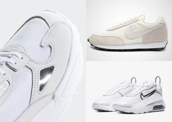 高顏值系白鞋!5款夏日必備「夢幻白色系款式」,Nike系列根本2020必備,全部都欠買啊!