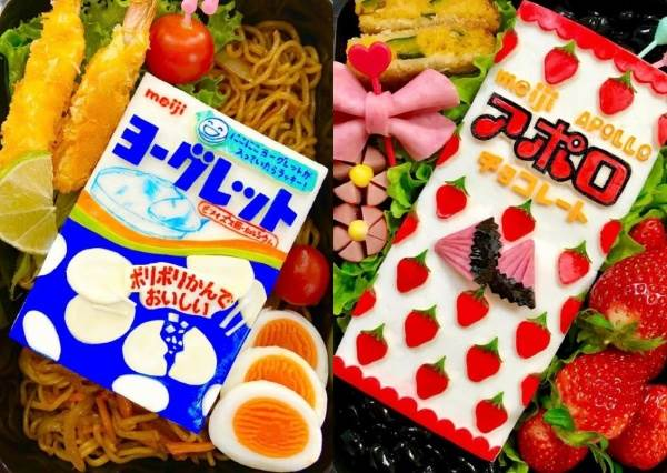便當也能COSPLAY?日本神人級媽媽超狂「手做便當」,還有清潔劑造型的該驚喜還是害怕!