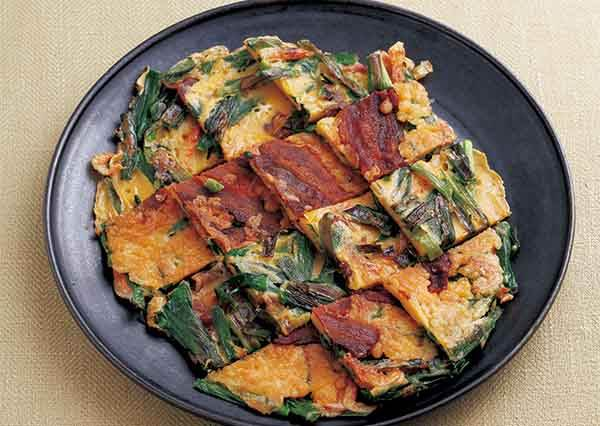 還在以為韓式煎餅只能放泡菜或海鮮嗎?沒吃過這個進階版的口味你就落伍了!