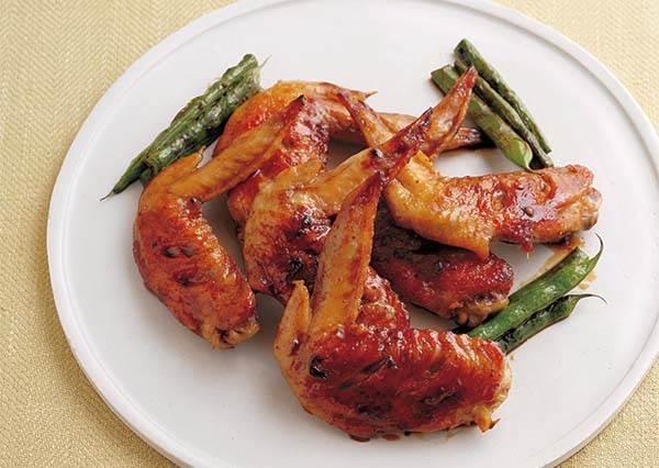 讓雞翅吸入超juicy甜辣醬汁的秘密~原來只要在這裡劃2刀就可以了!
