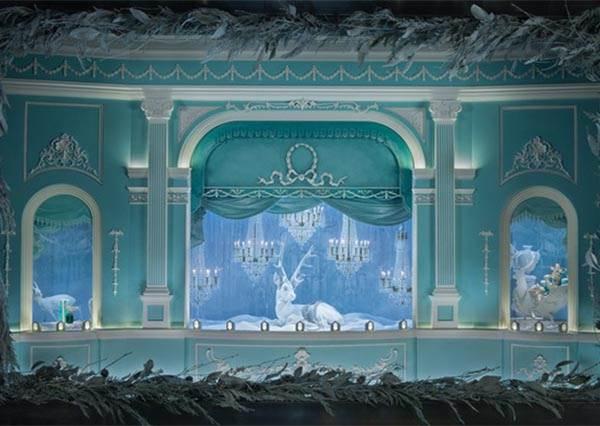 超夢幻!Tiffany色童話櫥窗,限時一個月,絕對要來這裡體驗下童話版的X'mas!