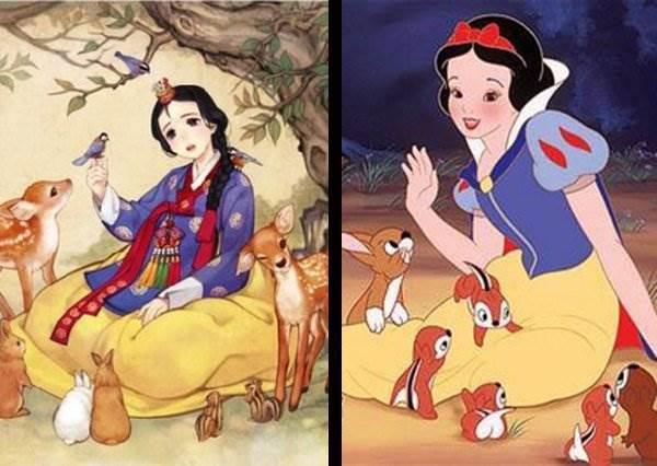 當迪士尼公主變韓國歐膩...這位白雪公主絕對會更受歡迎!