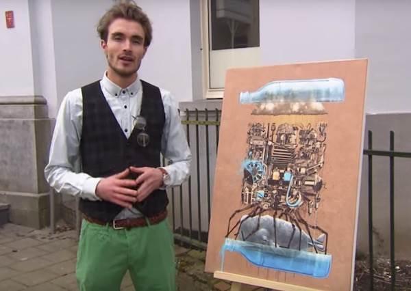 他們故意把IKEA印刷畫放到美術館裡,結果竟有人要出8000萬買下它!?