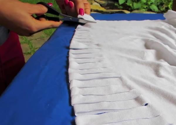 只要一把剪刀,立即幫冬裝變夏衣!
