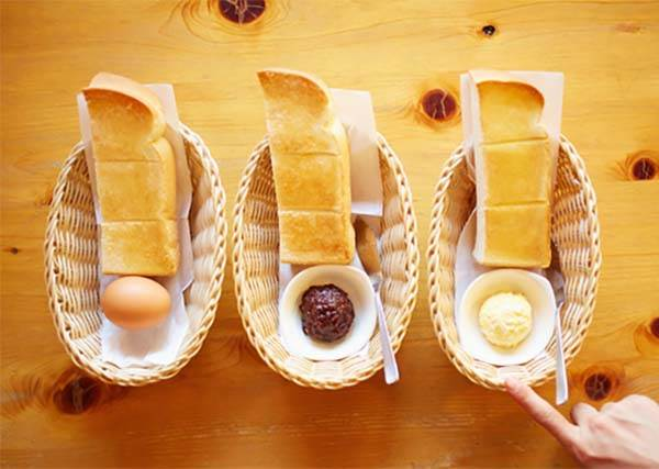 討厭!這是要怎麼選!早餐免費附贈水煮蛋、蛋沙拉、名古屋紅豆餡,你會選哪一樣?