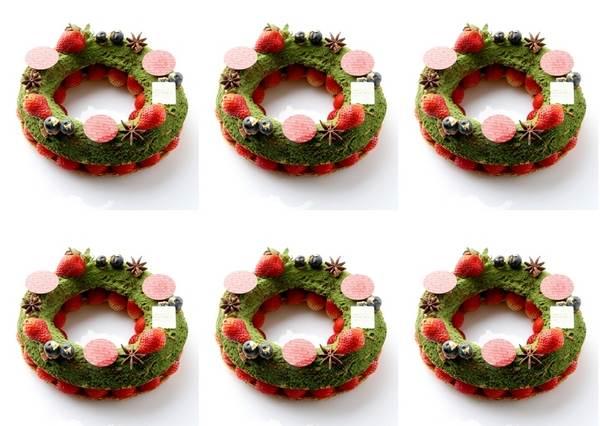 看到滿滿的抹茶和草莓就是要給讚啊!聖誕節限定的愛莉絲魔幻甜點,就算被紅心皇后砍頭我也想吃!