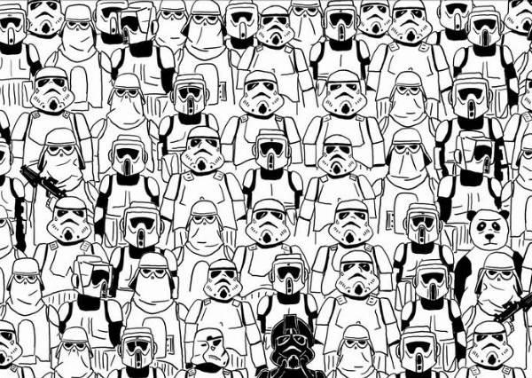 「尋找熊貓大作戰」第三關!這次亂入Star Wars難度調高兩百倍!