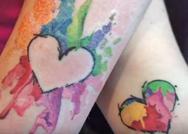11個放閃專用的情侶刺青,第4個再也不怕男生獨自出門就變單身了!